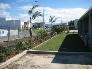 commercial landscaping by action bobcat hire